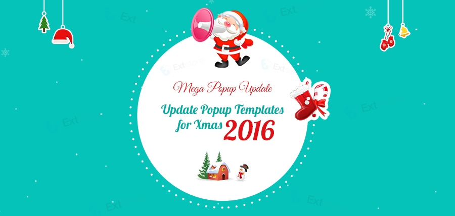 [Mega Popup Update] Update Popup Templates for Xmas 2016